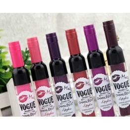 Exclusivo Labial Con Forma de Botella De Vino