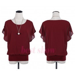 Blusa Fashion Casual De Gasa