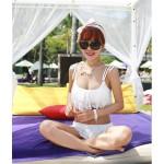 Bikini Blanco Con Encaje